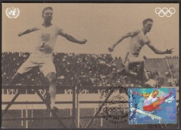 United Nations UN Vienna 1996 / Athletics / Sports And The Environment / Olympic Games London 1908 / MC