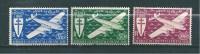 Colonie  Timbre PA D´AOF De 1945  N°1 A 3  Neuf ** - A.O.F. (1934-1959)
