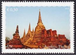 ONU Vienne 2015 World Heritage Patrimoine Mondial South East Asia Asie Du Sud-Est. 6 Stamps From Booklet Tirés Du Carnet - Centre International De Vienne