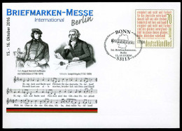39280) BRD - Ganzsache Michel USo ? - EVST 53113 BONN Vom 06.10.2016 - 70C Briefmarken-Messe Berlin - [7] Federal Republic