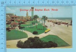 Greetings From - Daytona Beach  - Florida - USA - 2 Scans - Souvenir De...