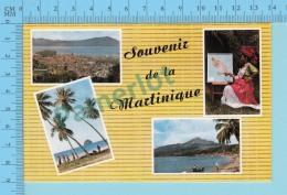 Souvenir De   - La Martinique , Multiview - 2 Scans - Souvenir De...