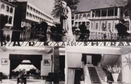 Shiraz Iran, Park Saadi Hotel, Fars Exposition Shiraz Printed On Back, Multi-view C1950s Vintage Real Photo Postcard - Iran