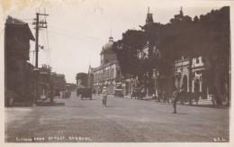 Karachi Pakistan, Elphinstone Street Scene, C1920s Vintage Real Photo Postcard - Pakistan