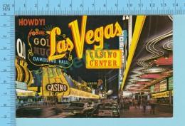 Howdy! From - Las Vegas -  Nevada USA - 2 Scans - Souvenir De...
