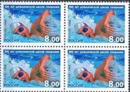 Russia, 2008, The 100th Anniv. Of The Russian Swimming School, MNH