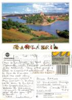San Vicente De La Barquera, Spain Postcard Posted 2010 Stamp - Cantabria (Santander)