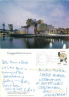 Guggenheim Museum, Bilbao Euskadi, Spain Postcard Posted 2008 Stamp - Vizcaya (Bilbao)