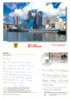 Guggenheim Museum, Bilbao Euskadi, Spain Postcard Posted 2000 ATM Meter - Vizcaya (Bilbao)