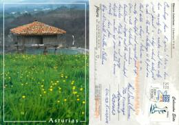 Horreo Asturiano, Spain Postcard Posted 2007 Stamp - Asturias (Oviedo)