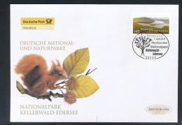 GERMANY Mi. Nr. 2863 Deutsche National- Und Naturparks - Nationalpark Kellerwald-Edersee - FDC - FDC: Enveloppes