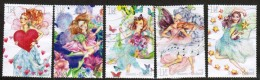 2010 Finland, Fairies,  Complete Set Used.
