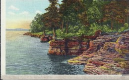 ETATS UNIS - UNITED STATES OF AMERICA - WISCONSIN - Along The Shore At Cabots Point Strugeon Bay Door County - Etats-Unis