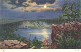 ETATS UNIS - UNITED STATES OF AMERICA - WISCONSIN - Moonlgt Scène From West Bluffs Devils Lake State Park - Etats-Unis