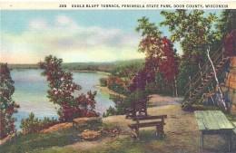 ETATS UNIS - UNITED STATES OF AMERICA - WISCONSIN - Eagle Bluff Terracve Peninsula State Park Door County - Etats-Unis