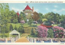 ETATS UNIS - UNITED STATES OF AMERICA - WISCONSIN -  Ceylon Court Maytag Home Lake Général - Etats-Unis