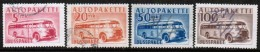 1952 Finland, Bus Parcel Stamps Complete Set Used.