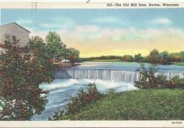 ETATS UNIS - UNITED STATES OF AMERICA - WISCONSIN -  The Old Mil Dam Racine - Etats-Unis