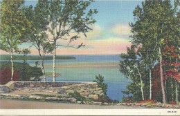 ETATS UNIS - UNITED STATES OF AMERICA - WISCONSIN -  From Observatioon Point Peninsula State Park Door County - Etats-Unis