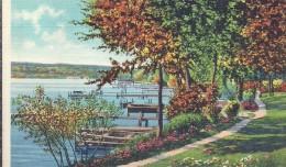ETATS UNIS - UNITED STATES OF AMERICA - WISCONSIN -  Shore Line At Belvidère Park Lake Geneva - Etats-Unis