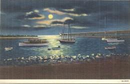 ETATS UNIS - UNITED STATES OF AMERICA - ILLINOIS - Moonlight On Lake Michigan Waukegan - Etats-Unis