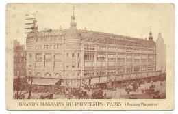 CPA - GRANDS MAGAZINS DU PRINTEMPS, PARIS (75) - Anciens Magazins - Lettre Commerciale Circulé En 1923 - Negozi
