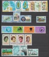 TUVALU  **MNH  Réf  G312 - Tuvalu