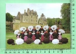 CPM, BESSE-SUR-BRAYE: Le Bonnet Besseen, Groupe Folklorique - France