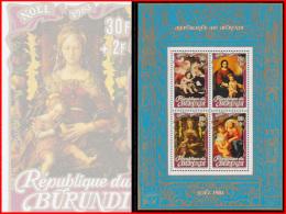 Burundi BL 0117**  Noel II 1983  MNH - 1980-89: Neufs