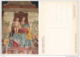 Macerata Abazia Di S. Maria Di Chiaravalle. - MADONNA COL BAMBINO. Opera Di B. Luini - Paintings