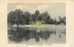51 Marcilly Sur Seine, La Plage, N° 2 - Autres Communes