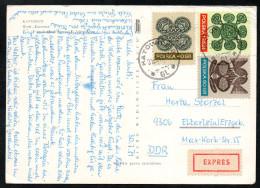 6955 - Alte Ansichtskarte - Katowice - Express 1971 - Briefe U. Dokumente