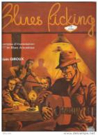 Methode Blues Ficking Exemple D´improvisation Alain Giroux Avec CD - Musique