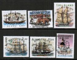 1988 Aland Islands Complete Year Set  Used. - Ålandinseln