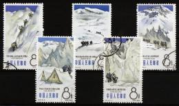 A4290) PR China 1965 Bergsteigen Mi.868-872 Gestempelt Used - 1949 - ... Volksrepublik