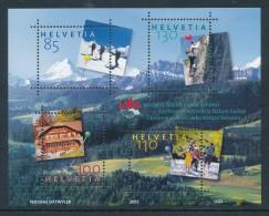 Suisse BF N°39** Amis De La Nature - Blocs & Feuillets
