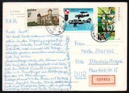 6957 - Alte Ansichtskarte - Katowice - Express 1972 - Briefe U. Dokumente
