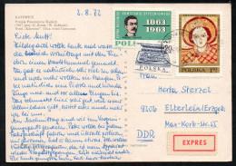 6959 - Alte Ansichtskarte - Katowice - Express 1972 - Briefe U. Dokumente