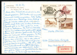 6963 - Alte Ansichtskarte - Zakopane - Express 1972 - Briefe U. Dokumente