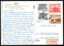 6964 - Alte Ansichtskarte - Zakopane - Express 1972 - Briefe U. Dokumente