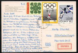 6966 - Alte Ansichtskarte - Tatra Tatry - Express 1972 - Briefe U. Dokumente