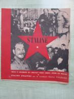 Staline - Textes Et Documents De L'Institut Marx - Engels - Lénine De Moscou - Revues & Journaux