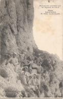 Mines Construction D'une Route En Montagne , Manoeuvres Excecutées Par Les Sapeurs Du Génie TB ASSEZ RARE - Manoeuvres