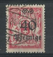 DANZIG - MICHEL Nr. 186 OBLITERE - KW (2009) = 11 EURO - Danzig