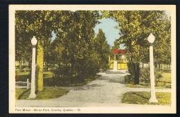 CANADA -GRANBY -QUEBEC - Parc Miner- Miner Park - Recto Verso - PAYPAL FREE - Granby
