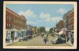 CANADA -GRANBY -QUEBEC - Rue Principale - Main Street -AUtos - Recto Verso - PAYPAL FREE - Granby