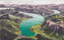 Salzkammergut - Der Mondsee Aus Der Vogelschau (1039) * 1921 - Mondsee