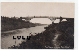 ANGLETERRE :  Cantilever Bridge Latchford - Angleterre