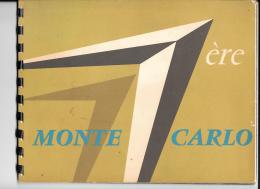 Plaquette Publicitaire De ID 19 Citroen  Année 1960 - Publicités