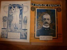 1917 LPDF :Bal à New-York Pour Les Alliés;Le Moteur à Pétrole;Nos POILUS Dans La Boue Et Tranchées;RASPOUTINE;Braila .. - Magazines & Papers